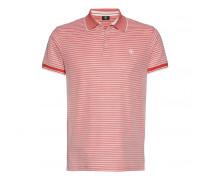 Polo-Shirt JAMESON für Herren - Washed Red/White
