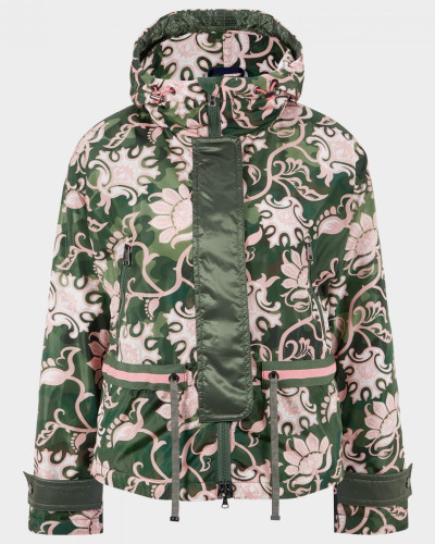 Jacke Nadja für Damen - Grün/Rosa Jacke