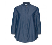 Bluse ROSANA-G für Damen - Denim Blue