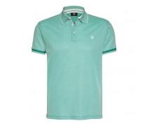Polo-Shirt JAMEST für Herren - Washed Jade