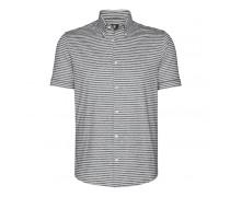Shirt TOM für Herren - Gray Melange / Off-white