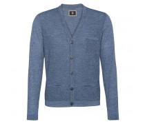 Strickjacke JALEN für Herren - Pale Blue / Gray Melange