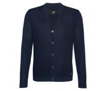 Strickjacke JALEN für Herren - Blue Black Melange