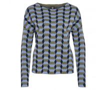Pullover LAELI für Damen - Olive / Multicolor