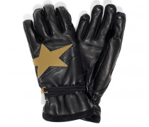 Ski-Handschuhe Silvia für Damen - Black / Gold