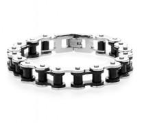 Armband Steel Bike 1052 schwarz