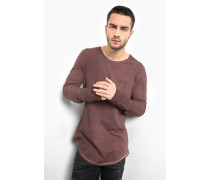 Langarmshirt Cruz bordeaux