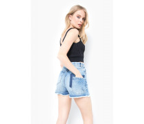 Jeansshorts Mindy blau