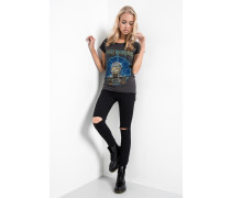 Print T-Shirt Iron Maiden Mummy WSN