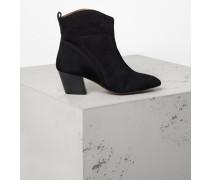 Schuhe Karyn Suede schwarz