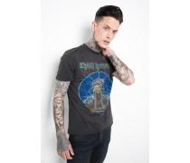 Amplified Print T-Shirt Iron Maiden Mummy MSN