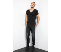 T-Shirt Malik schwarz