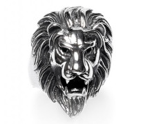 Ring Lion Head 1248 silber