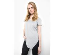 T-Shirt Manja slub grau