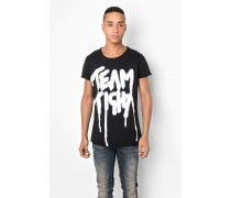 Print T-Shirt Team MSN schwarz