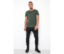 T-Shirt Alois grün/ schwarz