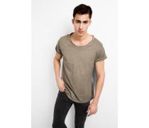 T-Shirt Milo slub dunkelgrün