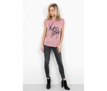 Print Shirt Wild Heart WSN pink