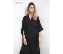 Kimono Elina schwarz