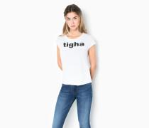 T-Shirt Logo WSN weiß
