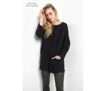 lange Bluse Valeria schwarz