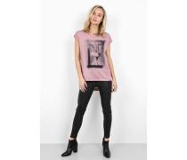 Print Shirt Biker Pegasus WSN pink