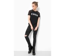 Print T-Shirt Dagny schwarz