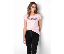 Print T-Shirt Dagna pink
