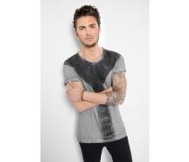 T-Shirt Smudge jersey MSN grau