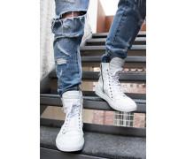 Sneaker Trace weiß