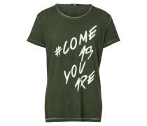 Print T-Shirt Slogan Shirt MSN