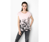Print Shirt Roses Reincarnation WSN rosa