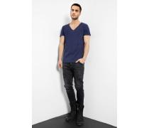T-Shirt Malik blau