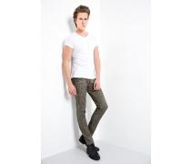 Jeans Jona zip dunkelgrün