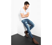 Slim Fit Billy the kid blau