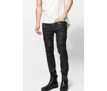 Jeans Floyd coated schwarz