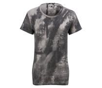 tigha Print T-Shirt Line Map MSN
