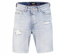 Shorts Ley 1097 destroyed blau