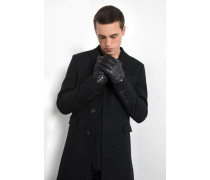 Lederhandschuhe Aven schwarz