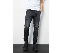 Slim Fit Billy the biker schwarz