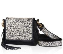 Tasche aus bearbeitetem Leder