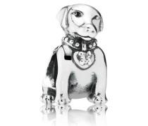 Charm  Labrador  Silber Cubic Zirconia 791379CZ