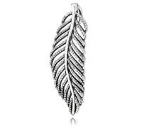 Feder Halsketten-Anhänger Silber Cubic Zirconia 390350CZ