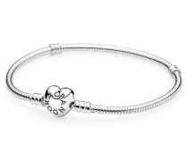 Armband  Moments  Herz-Verschluss Silber 590719-16