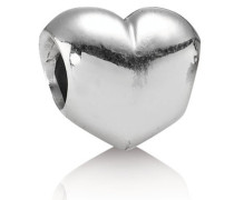 Charm  Glattes Herz  Silber 790137