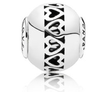 ESSENCE Damen Charm Love (Liebe) Silber onesize 796070