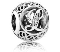 Damen Charm Vintage V Silber Cubic Zirconia onesize 791856CZ