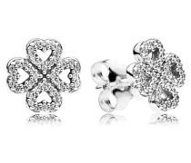 Ohrstecker  Blüten der Liebe  Silber Cubic Zirconia 290626CZ