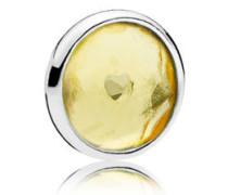 Damen Medaillon-Elemet für Medaillon-Halskette Tröpfchen Silber onesize 792175CI