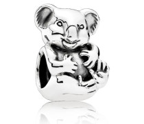 Charm  Niedlicher Koala  Silber 791951